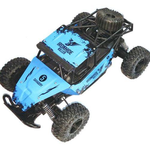 RC Monster Truck KING CHEETAH Ironhide Killer 116 2.4G (blue)