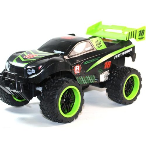 RC Monster Truck Off-Road Car Cross Country Max7 Racing 4-Channel (black-green)-1325-1A