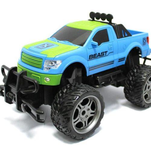 RC Monster Truck PHANTOM SPAN Beast 116 4-Channel (blue-green)