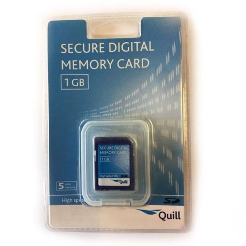 SD 1GB QUILL Blister