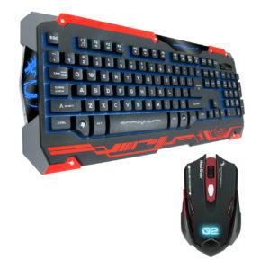 Ενσύρματο Σετ gaming ποντίκι και πληκτρολόγιο zornwee resident evil