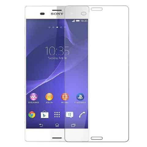 glass protector detech tempered glass for sony xperia z3