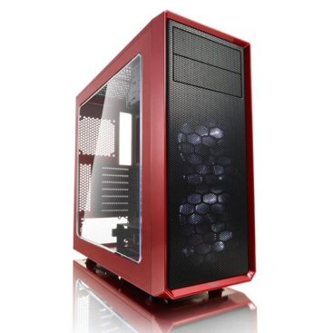 Case Fractal Design Focus G Red Window FD-CA-FOCUS-RD-W