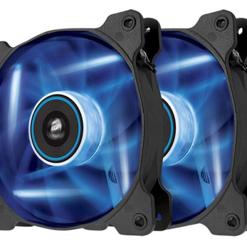 Cooler Corsair Air Series AF120 LED Blue Quiet Edition Twin Pack CO-9050016-BLED