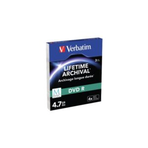 DVD-R 4.7GB Verbatim 4x M-Disc 3er Slim Case 43826