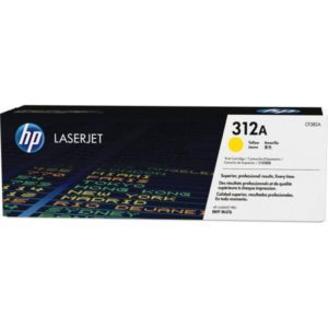 HP Tonerpatrone - 312A - CF382A - yellow CF382A