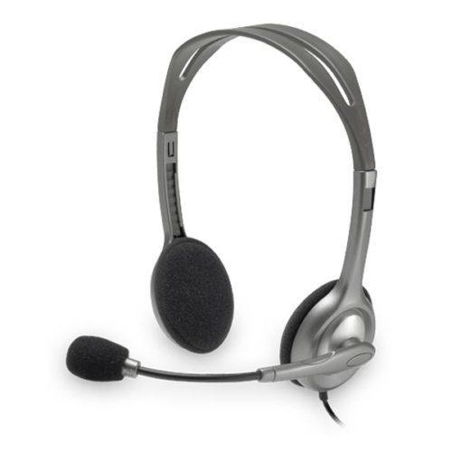 Headset Logitech H110 Stereo Headset 981-000271