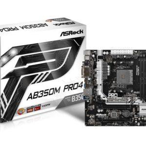 Mainboard ASROCK AB350M Pro4 90-MXB520-A0UAYZ