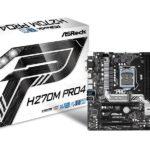 Mainboard ASROCK H270M Pro4 90-MXB3D0-A0UAYZ