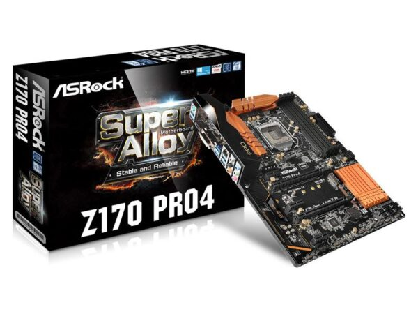 Mainboard ASROCK Z170 Pro4 90-MXGZG0-A0UAYZ