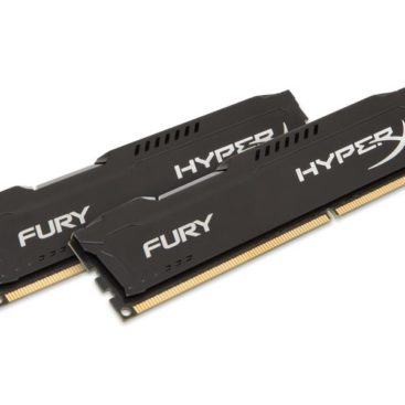 Memory Kingston HyperX Fury DDR3 1600MHz 8GB (2x 4GB) Black HX316C10FBK2