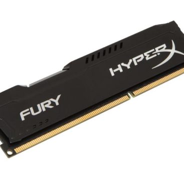 Memory Kingston HyperX Fury DDR3 1866MHz 8GB Black HX318C10FB