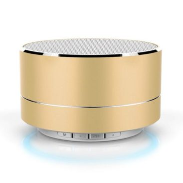 Music Speaker with Bluetooth (Gold)