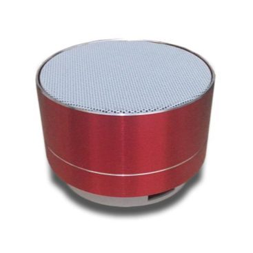 Music Speaker with Bluetooth (Red)