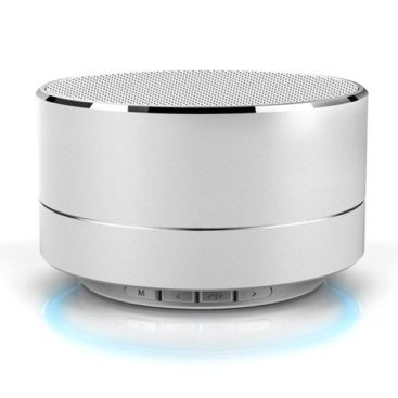 Music Speaker with Bluetooth (Silver)