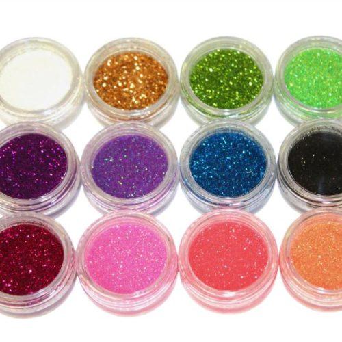 Nail Design Kit (Glitter Powder)