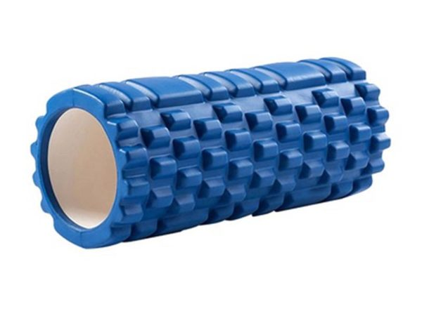 Yoga Massage Pillar 33x14cm (Blue)