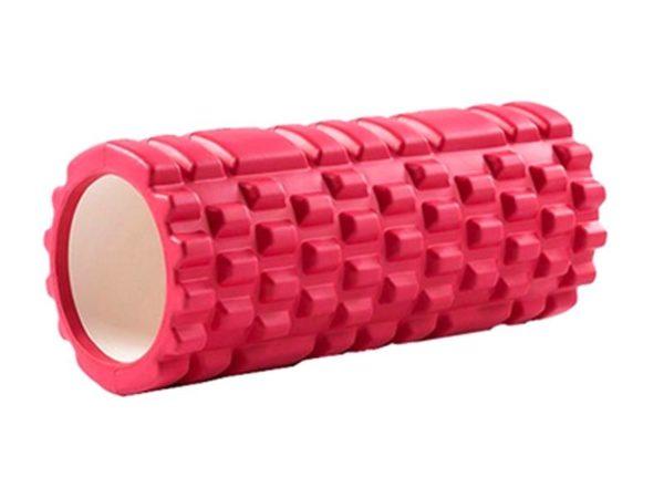 Yoga Massage Pillar 33x14cm (Red)