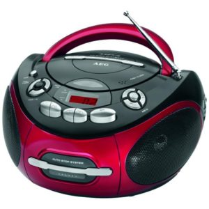 AEG Stereo cassette radio SR 4353 CD