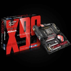 ASRock Fatal1ty X99 Professional Gaming i7 Intel X99 LGA 2011-v3 ATX motherboard 90-MXB370-A0UAYZ
