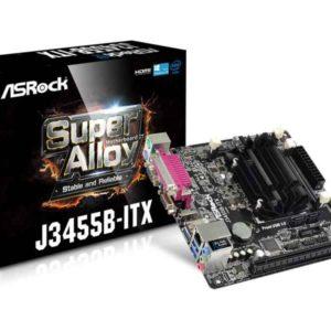ASRock J3455B-ITX NA (integrated CPU) Mini-ITX motherboard 90-MXB120-A0UAYZ
