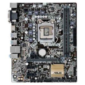 ASUS H110M-Plus Intel H110 LGA 1151 (Socket H4) microATX motherboard 90MB0PN0-M0EAY0