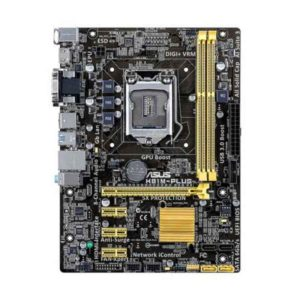 ASUS H81M-PLUS Intel H81 LGA 1150 (Socket H3) microATX motherboard 90MB0GI0-M0EAY0