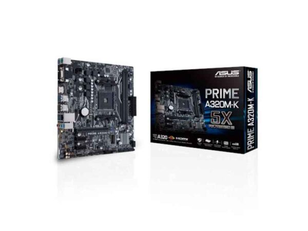 Asus Mb Prime A320m K Amd A320 Socket Am4 Microatx Motherboard