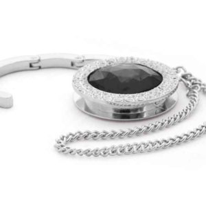 Bag Hanger with Diamond Design (Black C18)
