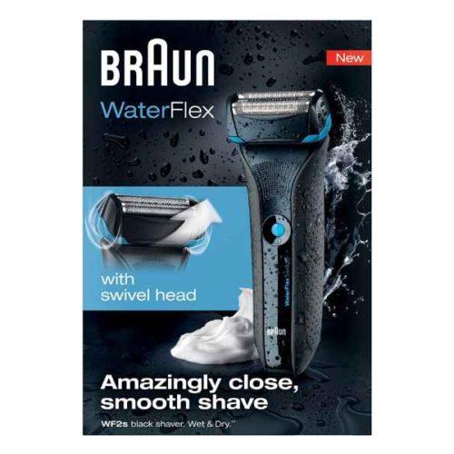 Braun Shaver WaterFlex WF2s black