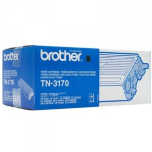 Brother Tonerpatrone - TN3170 - black TN3170