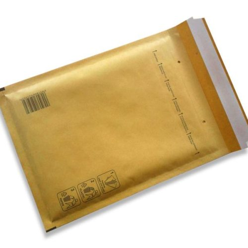 Bubble envelopes brown Size B 140x225mm (200 pcs.)