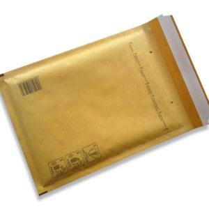 Bubble envelopes brown Size D 200x275mm (100 pcs.)