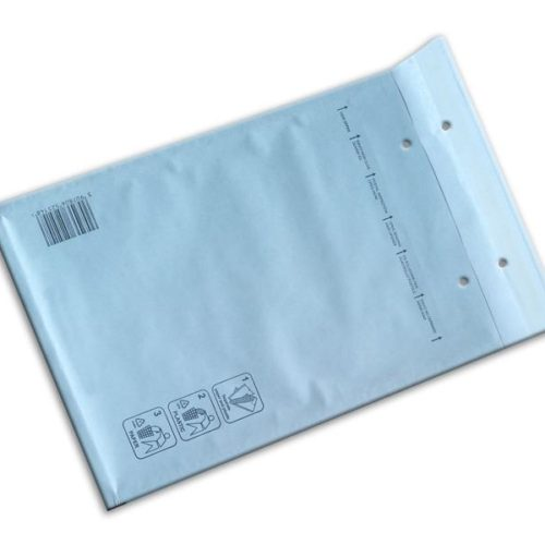 Bubble envelopes white Size B 140x225mm (200 pcs.)