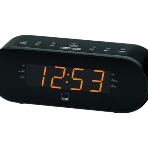 CTC Clock Radio MRC 7008 black