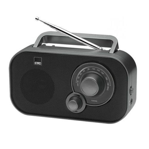 CTC Transistor radio TR 7009 black