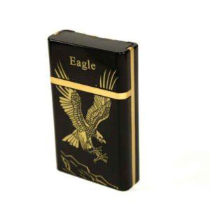 Case for 8 cigarettes with USB Lighter (Eagle)