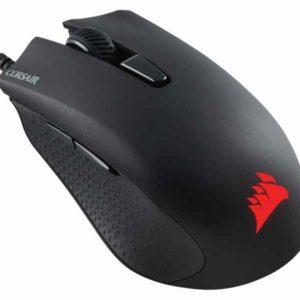Corsair Harpoon USB Optical 6000DPI Black mice CH-9301011-EU