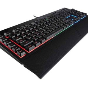 Corsair K55 RGB USB QWERTZ German Black CH-9206015-DE