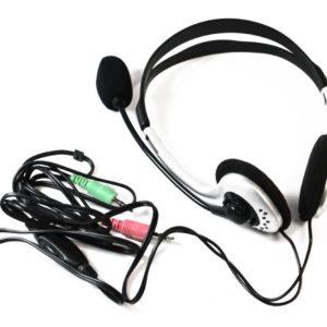 Digicomm Dynamic Stereo Headphones Headset Black