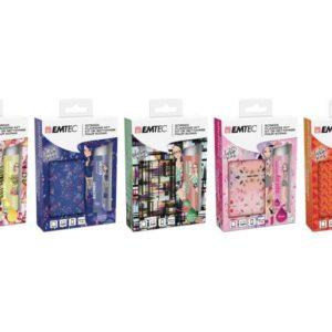 EMTEC Cleaning Set Fashion Prints Kit - 5 Pcs Pack