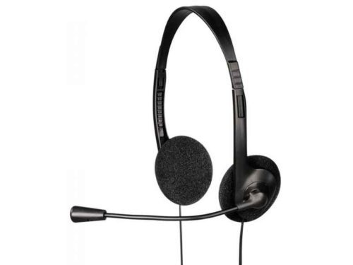 EXXTER PC Over Ear Stereo Headset HE-100