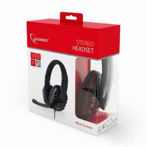 Gembird GHS-402 Binaural Head-band Black headset GHS-402