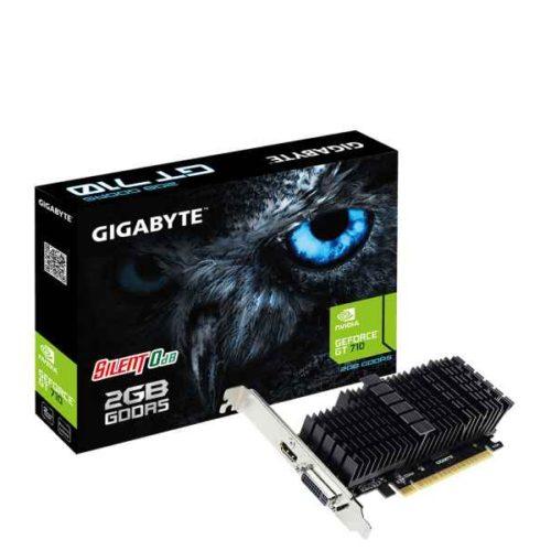 Gigabyte GV-N710D5SL-2GL GeForce GT 710 2GB GDDR5 graphics card GV-N710D5SL-2GL