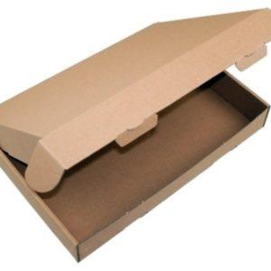 Grossbrief-Cardboard box 16,5 x 12,5 x 2,0cm (DIN A6 - Brown)