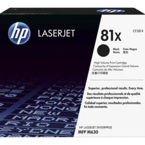 HP Tonerpatrone Contract - CF281XC - schwarz CF281XC