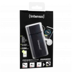 Intenso Powerbank PM5200 Rechargeable Battery 5200mAh (black)