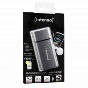 Intenso Powerbank PM5200 Rechargeable Battery 5200mAh (grey)