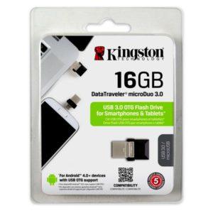 Kingston DataTraveler 16GB USB 3.0 DTDUO3