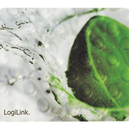 LogiLink Mousepad in 3D design, Lemon (ID0153)